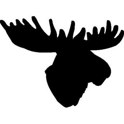 Moose Head 01 0344 Jpg 400 400 Moose Head Drawings Art