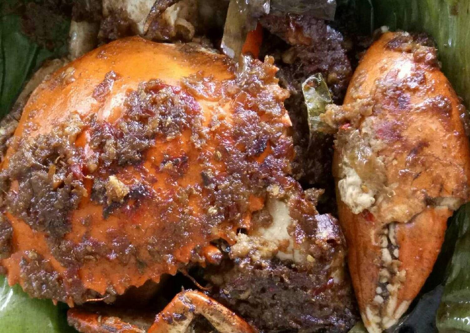 Resep Kepiting Asap Oleh Kresensia Venni Resep Resep Kepiting Makanan Dan Minuman Resep