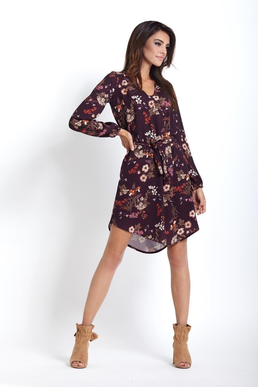 Zwiewna Dzienna Sukienka W Kwiaty 222 Fashion Casual Dress Dresses