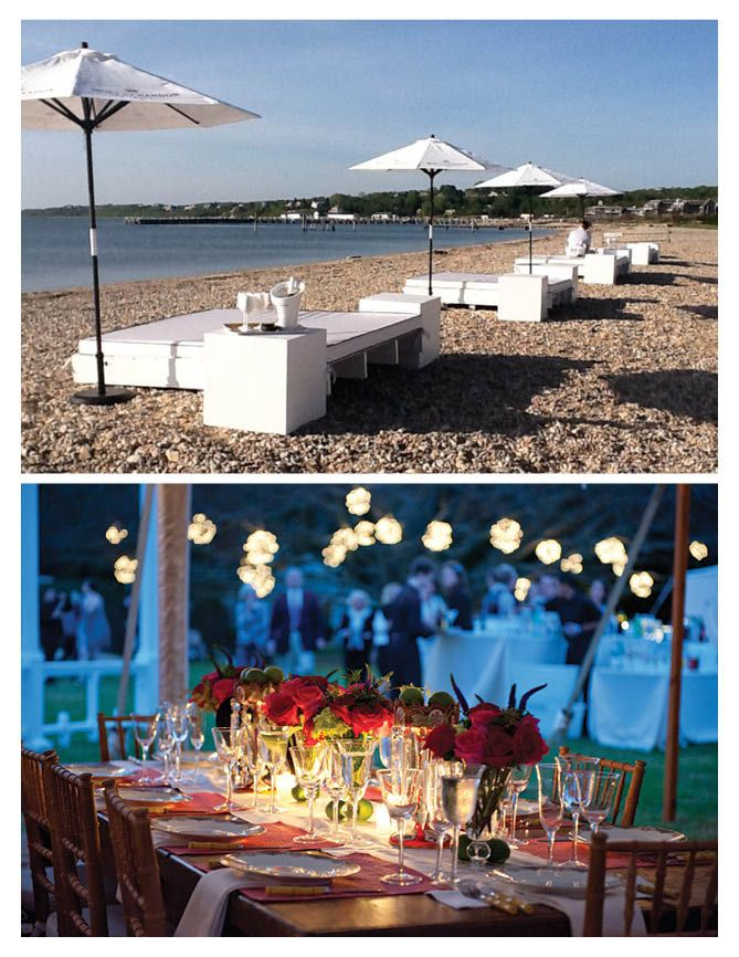 Hamptons Wedding Spotlight Wellwedhamptons Navy Beach Montauk