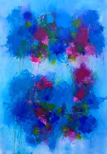 "Saatchi Art Artist Angela Dierks; Painting, ""Violets are ..."
