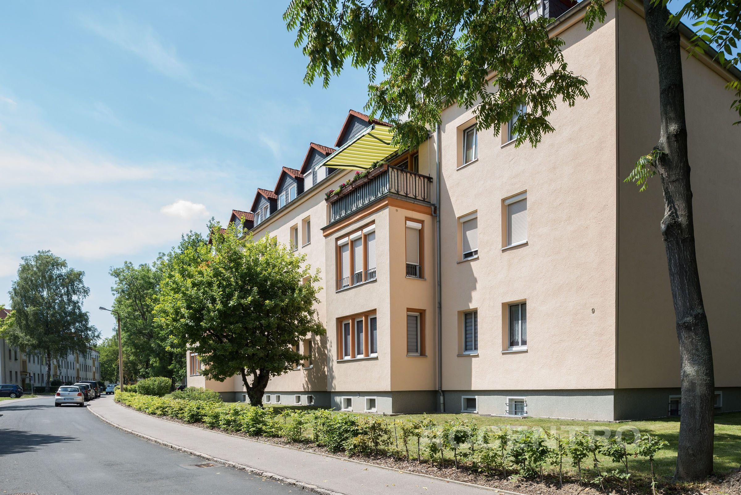 Eigentumswohnungen in der Straße der Einheit in Böhlen bei