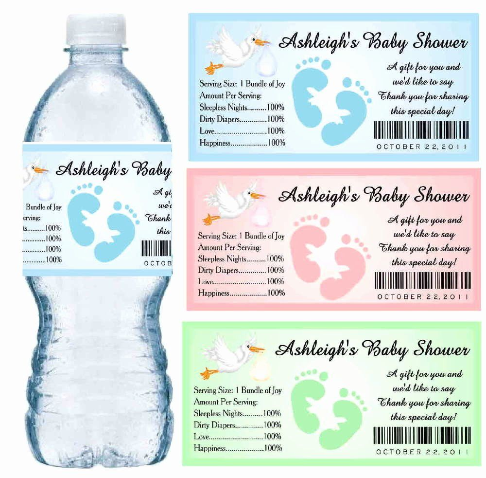 Free Printable Water Bottle Labels For Baby Shower Luxury Unavailable Lis In 2021 Water Bottle Labels Template Water Bottle Labels Baby Shower Water Bottle Labels Free Personalized water bottle label template