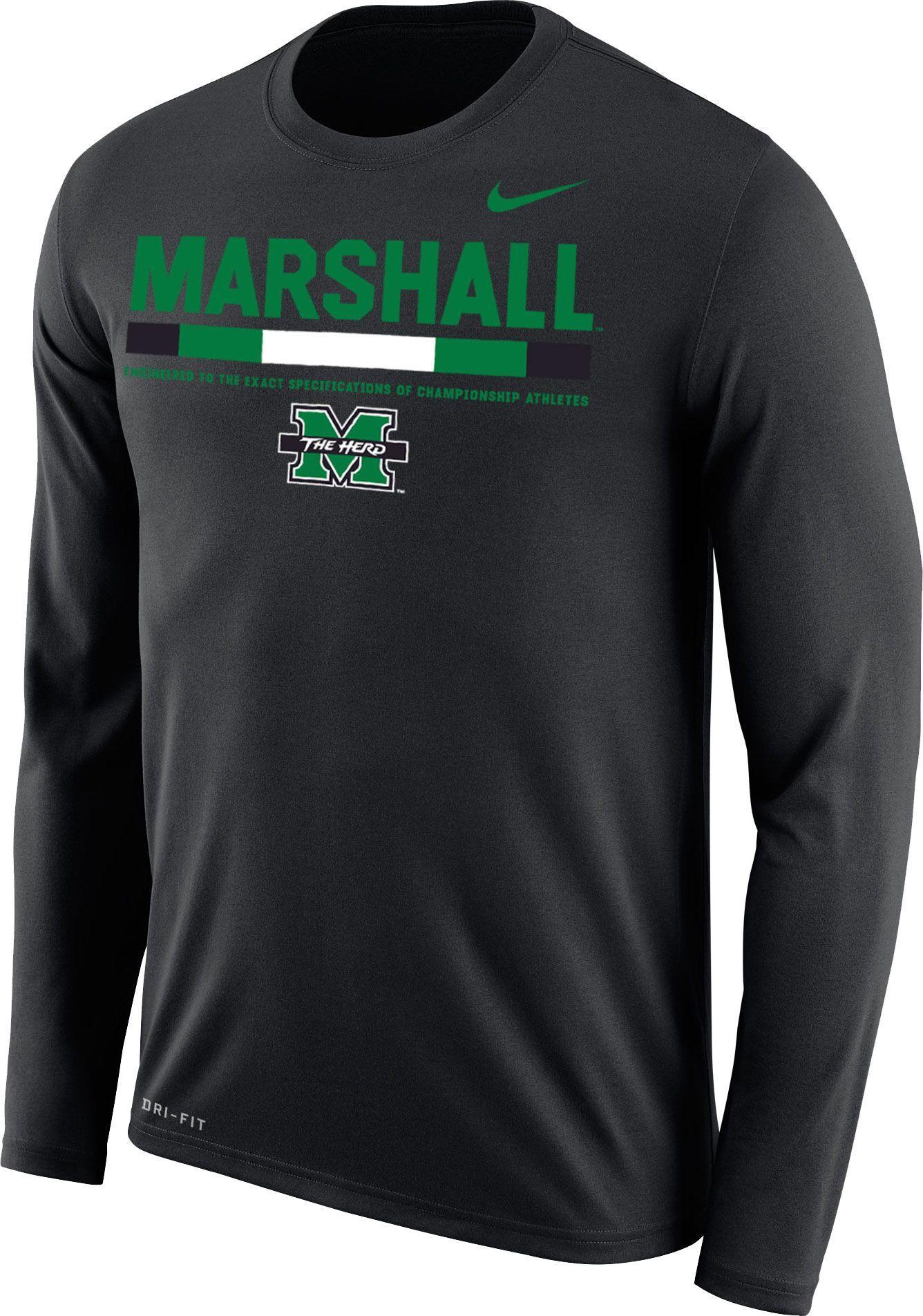 Marshall Football Nike Pullover (L)