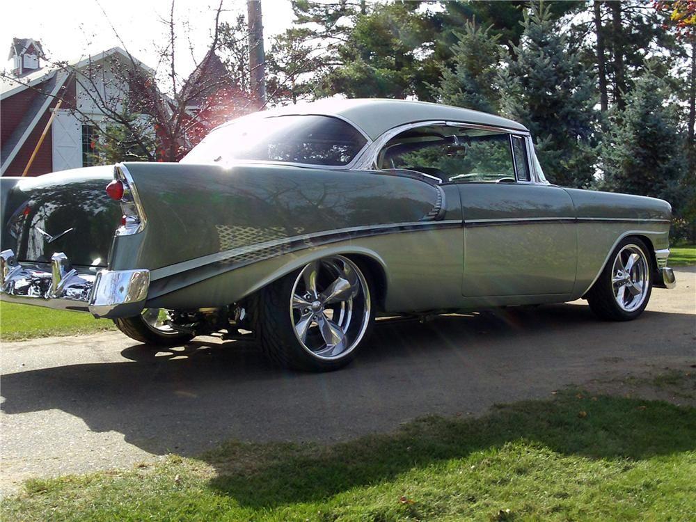 Belair Auto Auction >> 1956 Chevrolet Bel Air Lot 1246 2 Barrett Jackson Auction