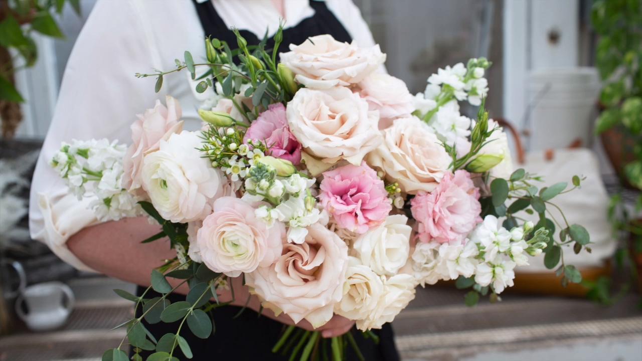 DIY Bridal Bouquet - Fast