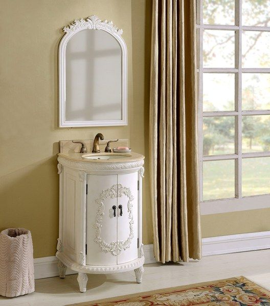 Pictures In Gallery Shabby Chic look Vintage style bathroom vanity Item S BE Size