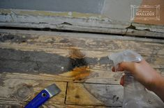 removing tar paper from wood flooring in 2020 | Flooring ...