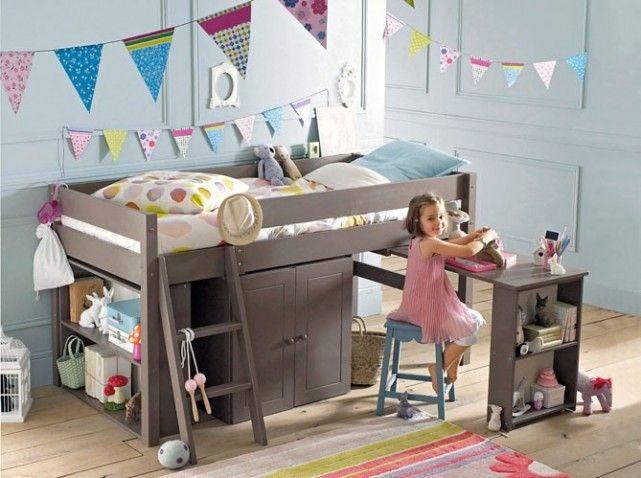 lit combine chambre enfant pinterest lits enfants et chambre enfant. Black Bedroom Furniture Sets. Home Design Ideas