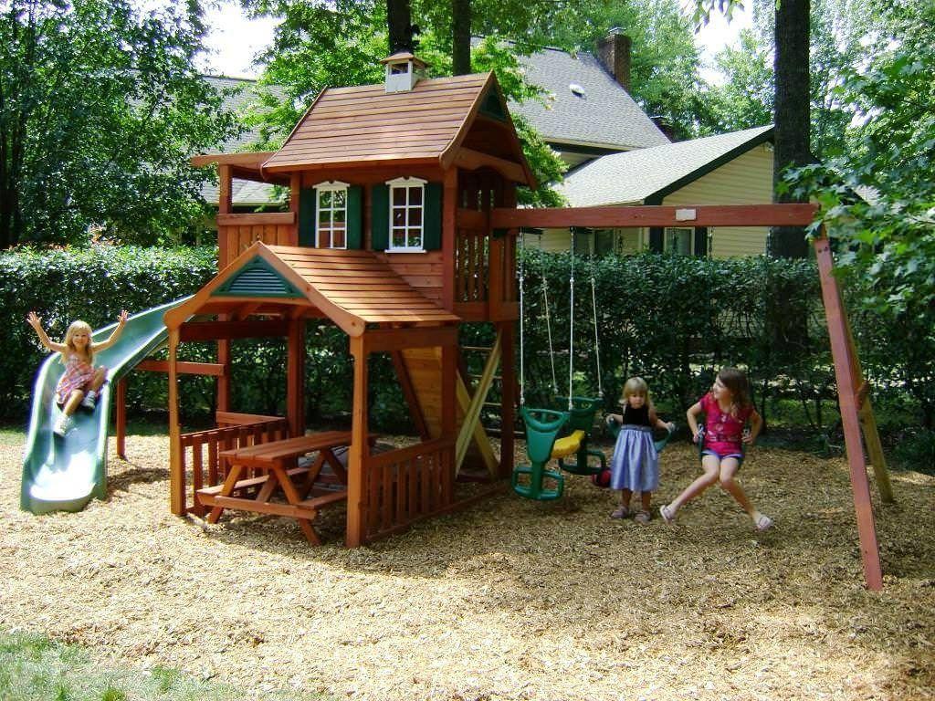 Backyard Playsets For Toddlers Backyard Playsets For Toddlers Wooden Outdoor Playsets For Kids For Backyard P Backyard Playground Playset Outdoor Backyard Play