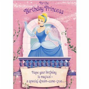 Disney birthday cards disney princess cinderella sound birthday disney birthday cards disney princess cinderella sound birthday card original film bookmarktalkfo Gallery