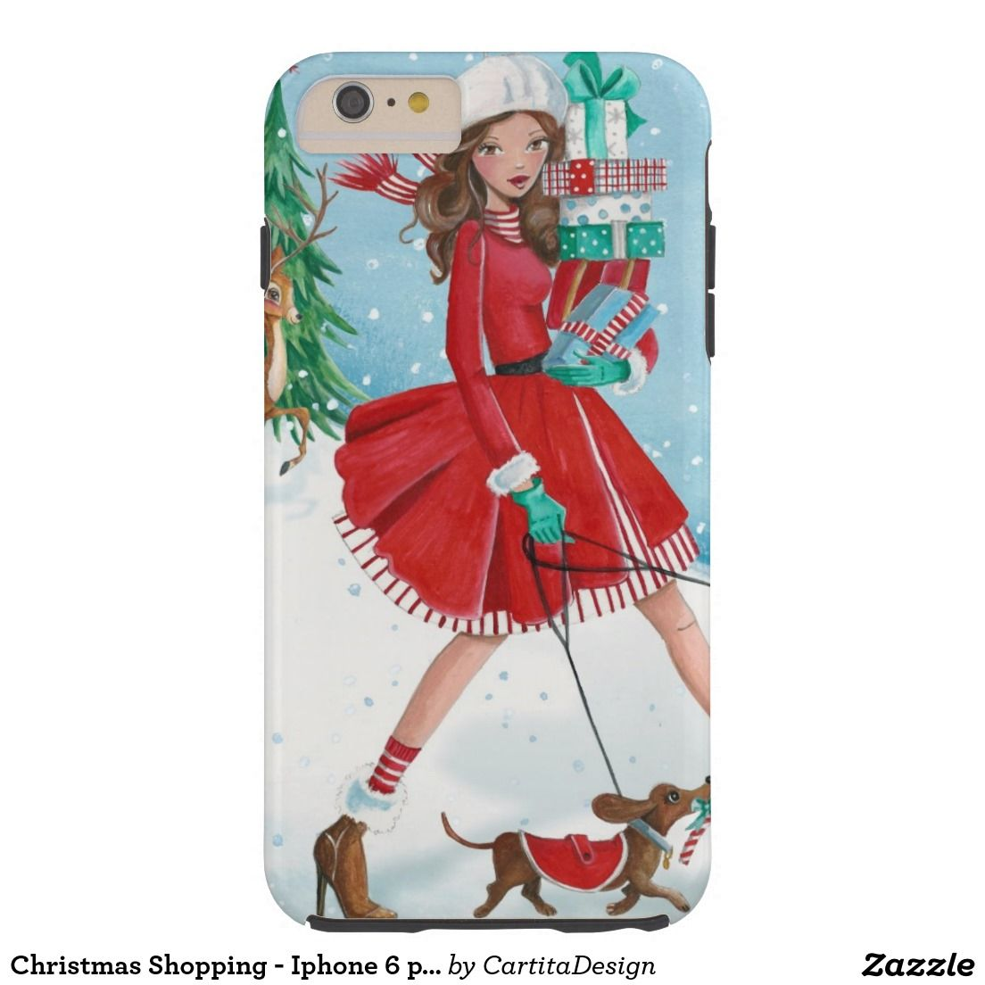 Christmas Shopping  Iphone  plus case  Nailed It  PodArtist