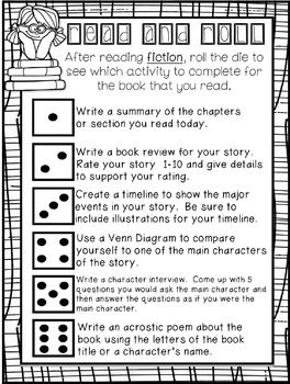 freebie read and roll reading responses by the classroom