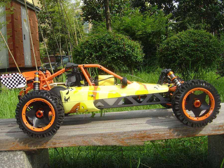 King Motor KM 002 29cc 1;5 RC Nitro/Gas Powered Buggy