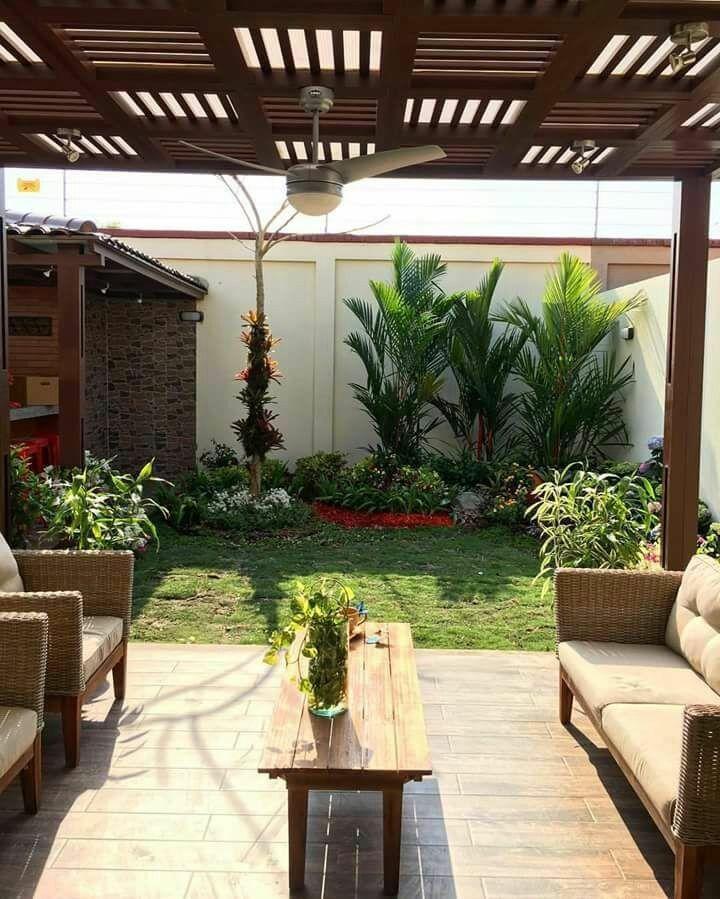 Diseno Interior En Aluminio Maderado Diseno De Patio Decoracion De Patio Jardines Para Casas