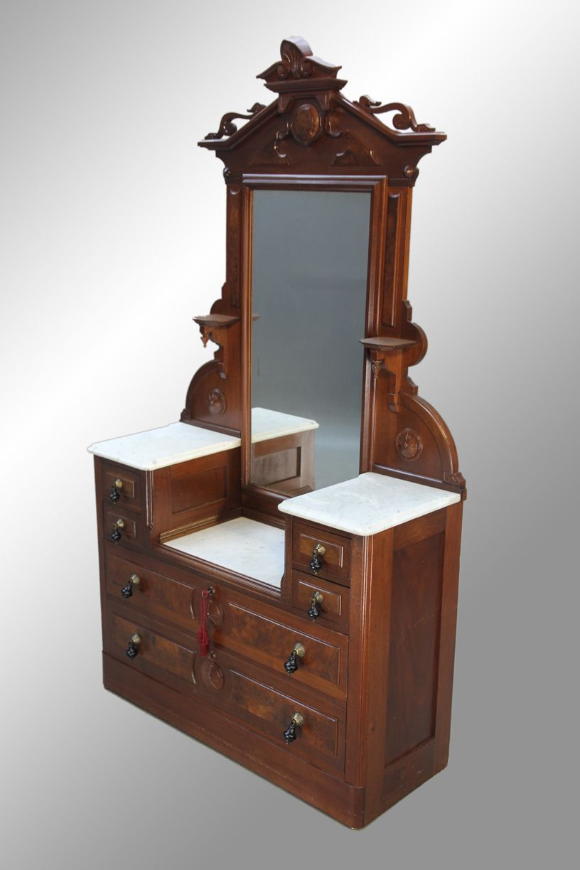 victorian antique dressers | 15936 Antique Victorian Marble Top ...
