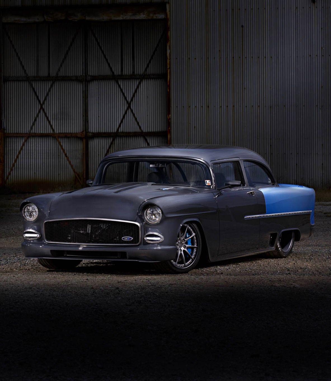 "utwo: "" 1955 Chevrolet Bel Air © Robert McGaffin """