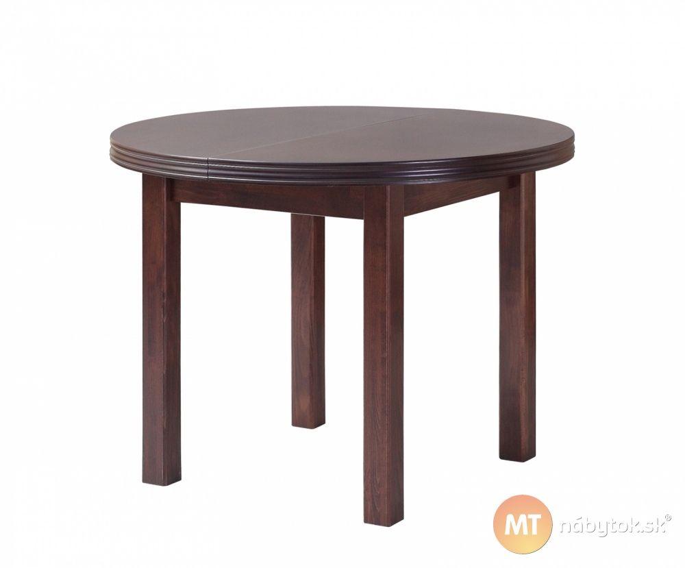 6ab4d1a187dd Okrúhly jedálenský stôl masív Oliver do malých kuchýň