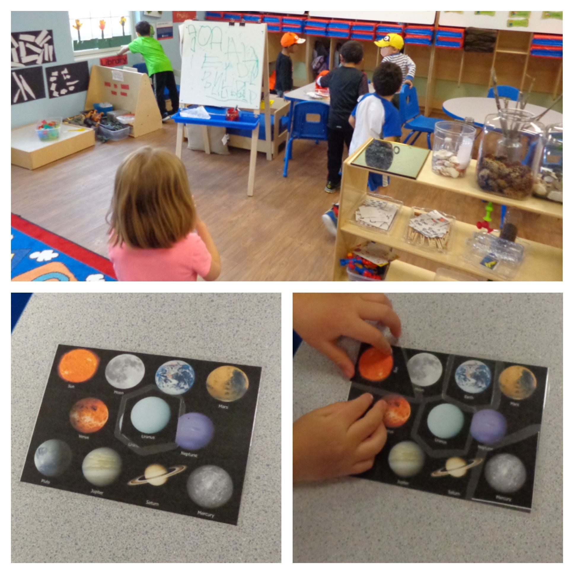 We Did A Solar System Scavenger Hunt Around The Classroom