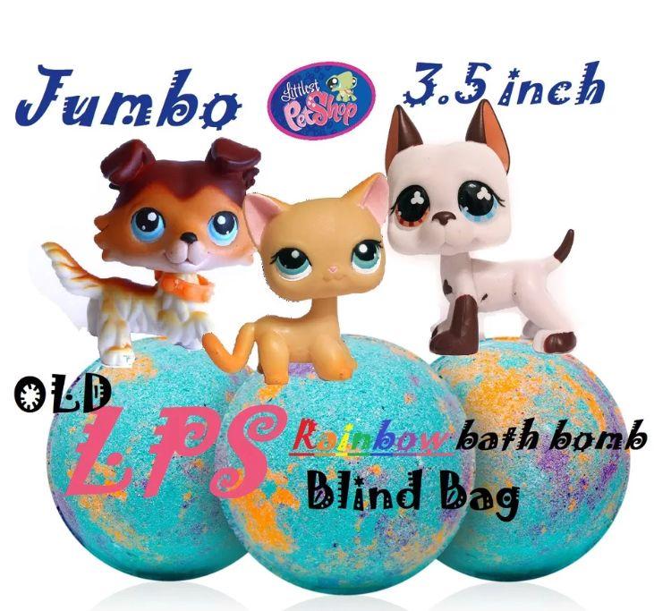 Giant 3 5 1lb Littlest Pet Shop Bath Bombs Lps Blind Bag Inside
