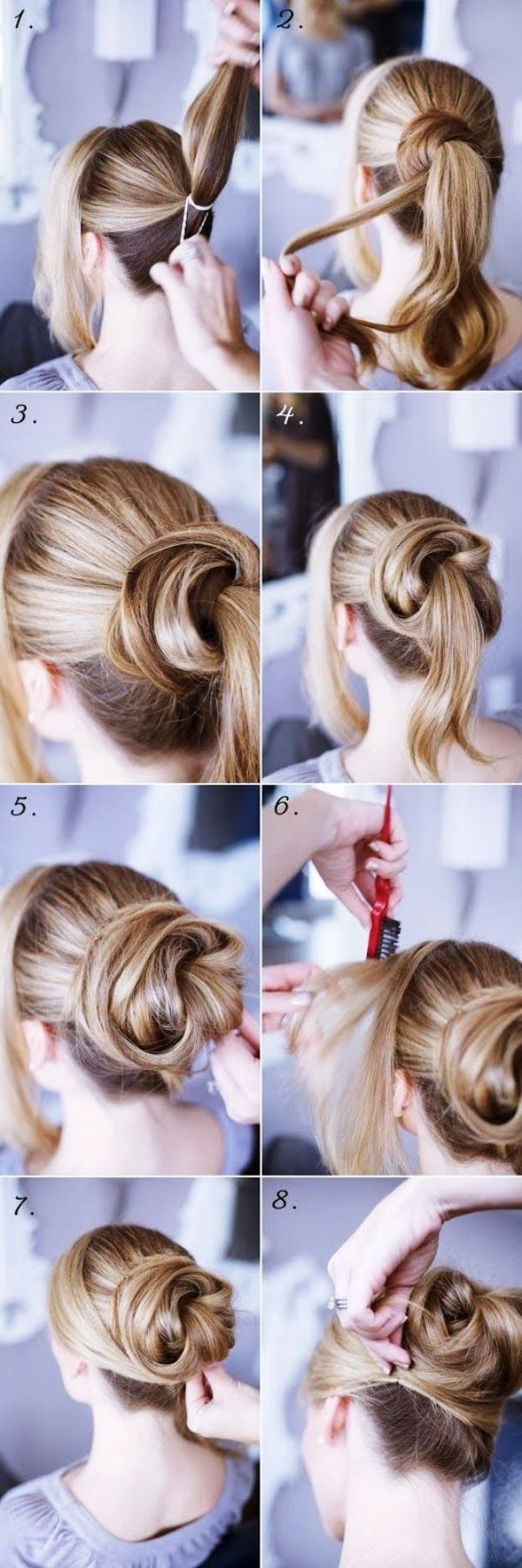 40 Self Do Hairstyles For Working Moms Buzz 2018 Hair Styles Long Hair Styles Updo Hairstyles Tutorials