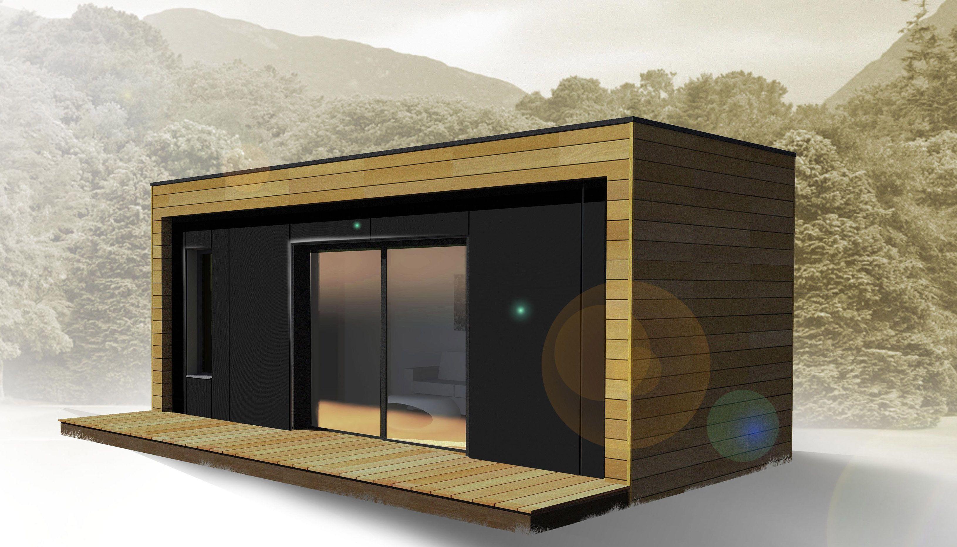 Biloba Concept Propose La Construction En Atelier D Un Studio De Jardin Independant Et De Qualite Livre Clef Plan Abris De Jardin Studio De Jardin Mini Maison