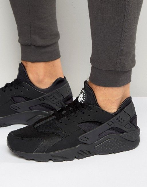 17a186fbbef Nike - Air Huarache 318429-003 - Baskets - Noir | cute shoes ...