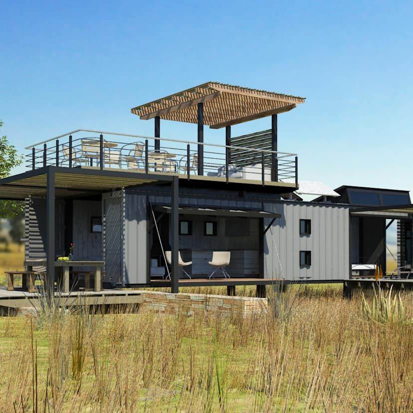 7 container homes from South Africa homify homify