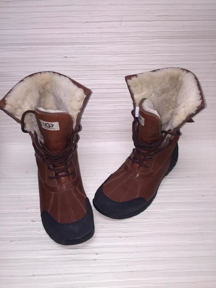 1497c019324 UGG AUSTRALIA MEN'S BUTTE BOOT~Waterproof leather~Wool lining~Sz 12 ...