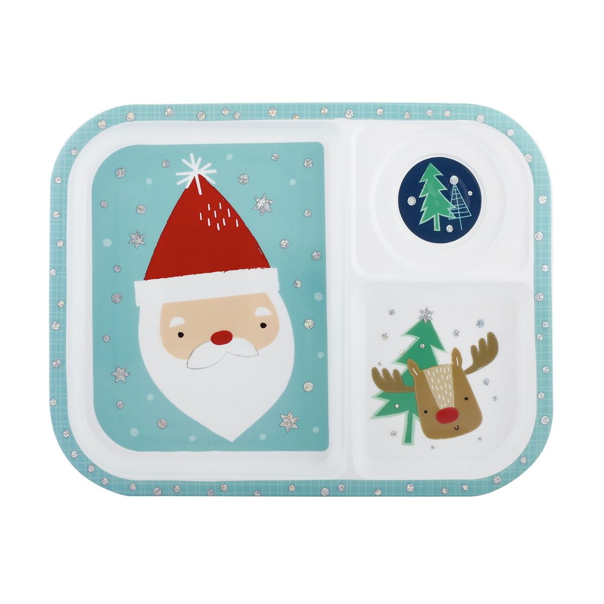 Christmas Section Plate | Kmart | Christmas ideas | Pinterest