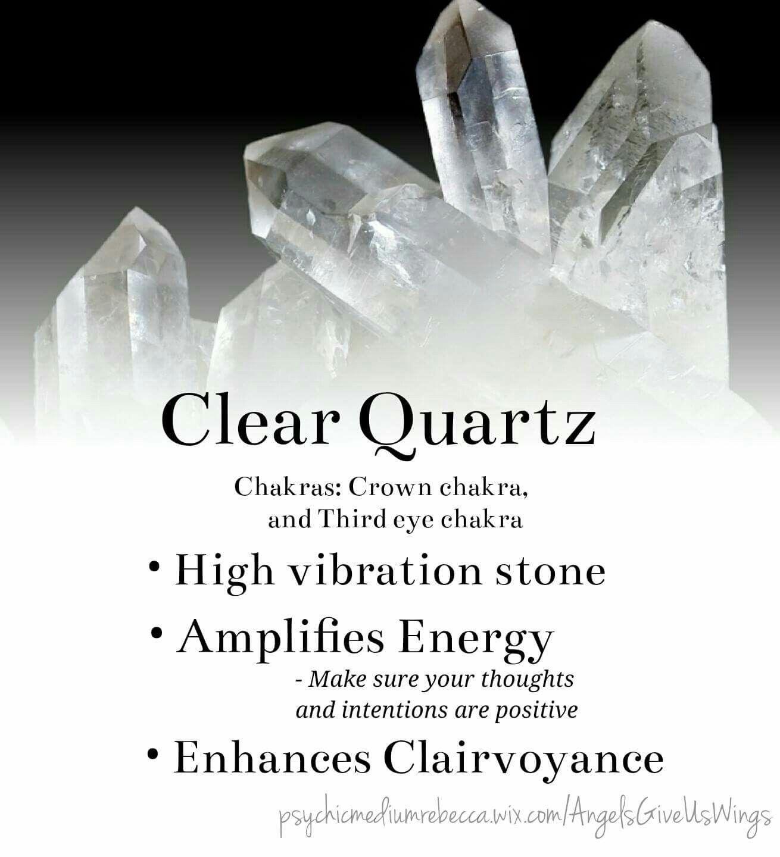 Orgonite Enhances Crystals Crystal Healing Stones Crystals Clear Quartz