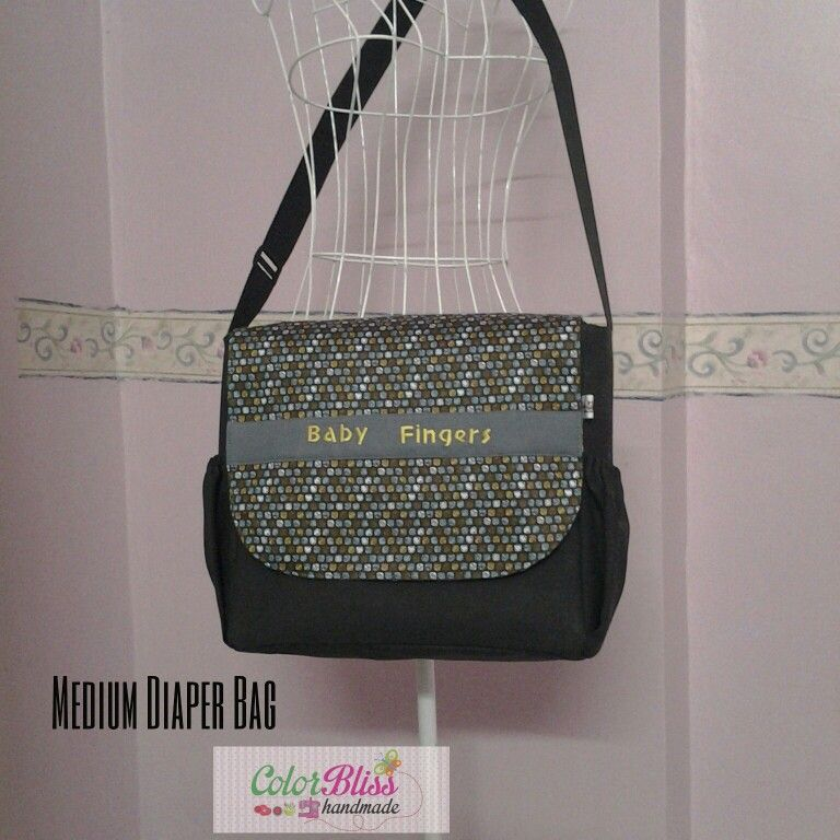 Diaper bag by color bliss handmade malaysia bags