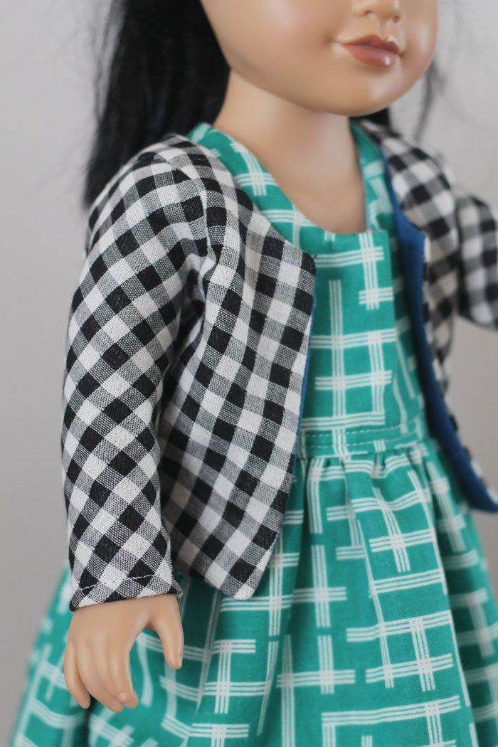 sewing: the chloe cardi and tee {free 18\