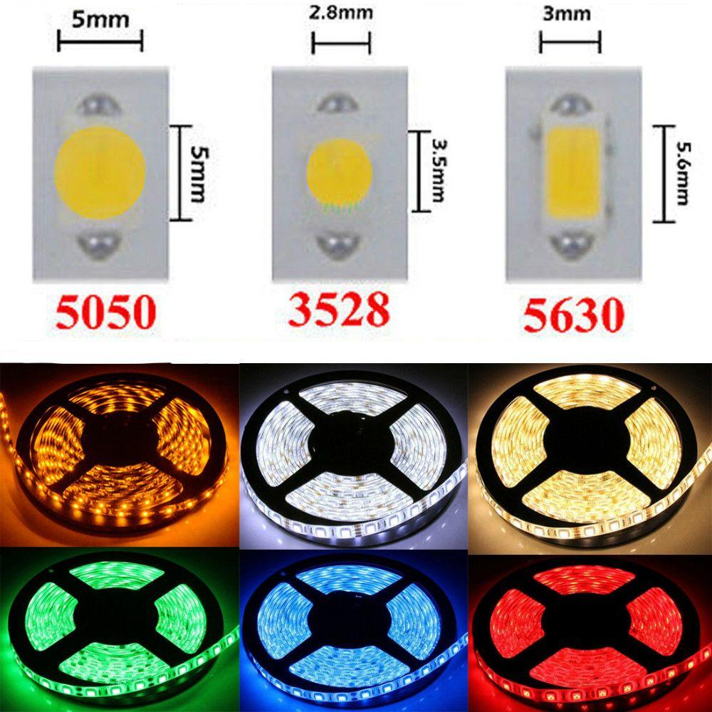 5m 300 leds rgb led strip light 3528 5050 3014 5630 smd