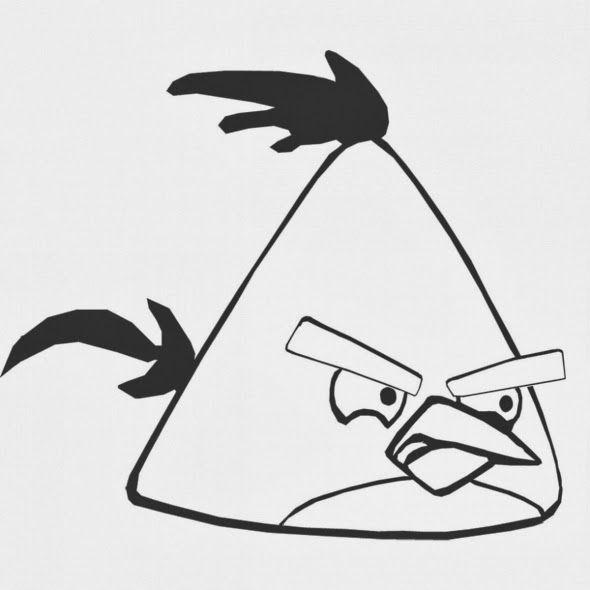desenho colorir angry birds | Para Colorear | Pinterest | Aves y ...