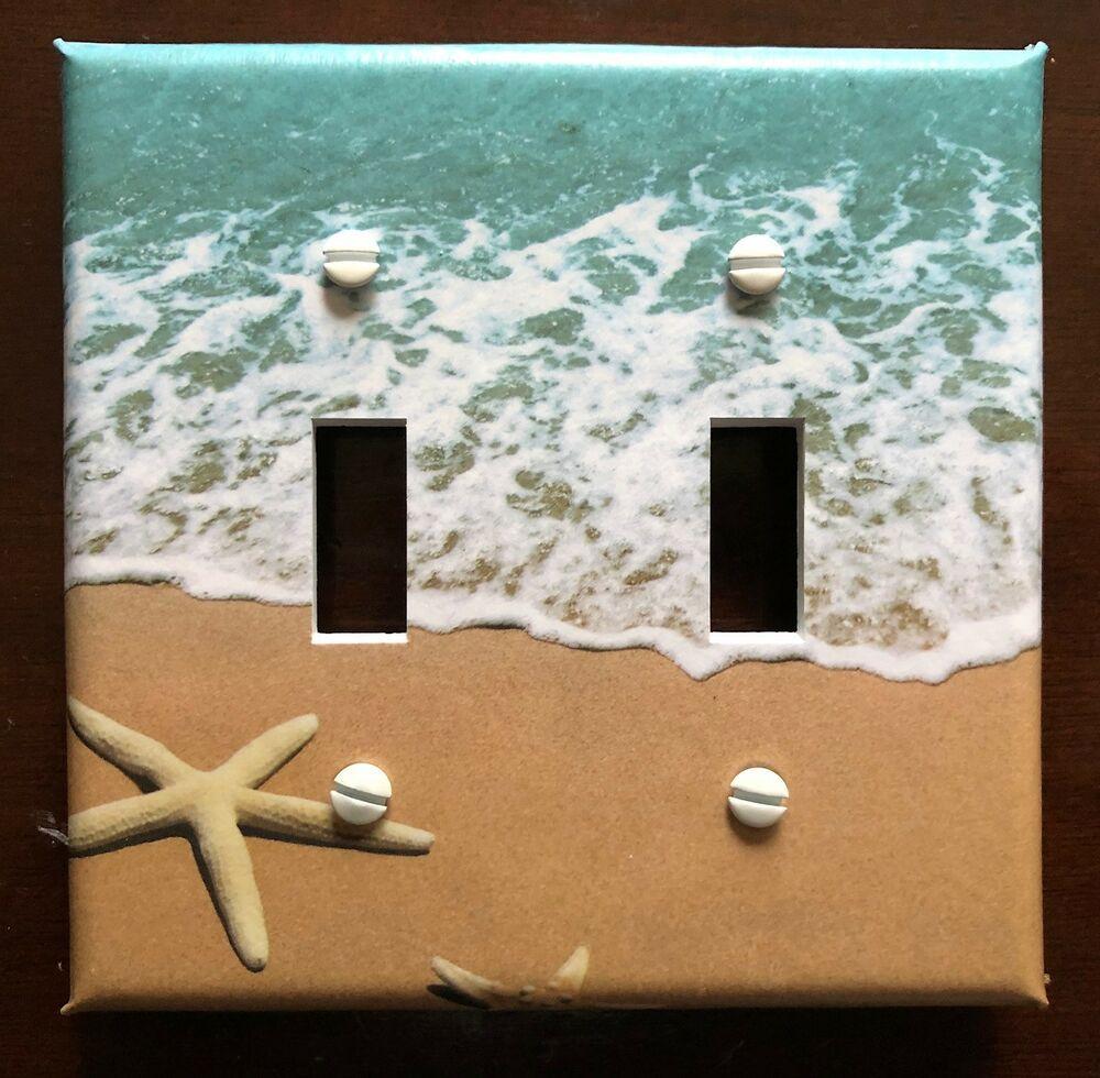 Beach Sand Surf Ocean Starfish My Plate Sizes Buy Three And Get