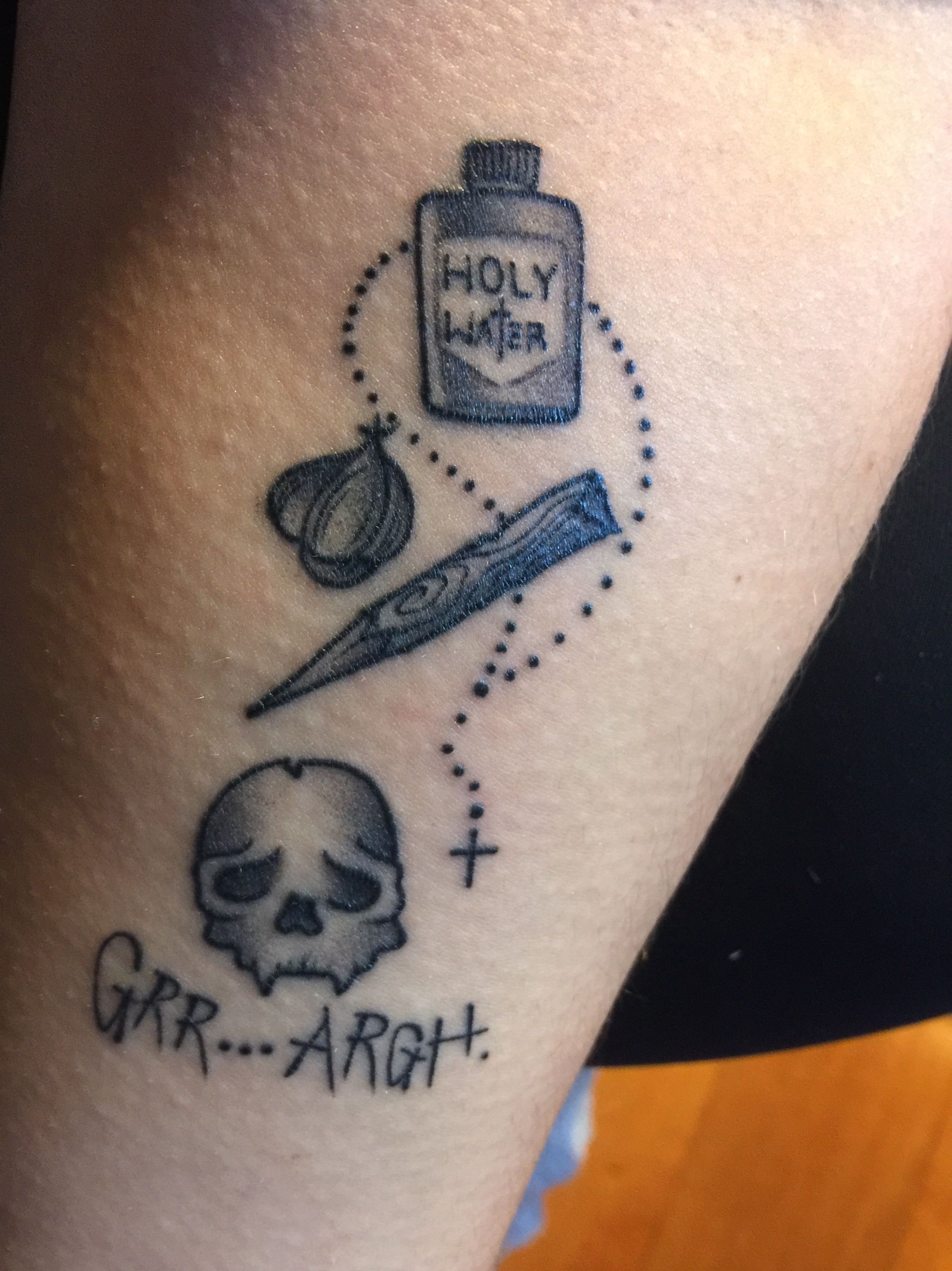 Buffy tattoo by art soul tattoo los angeles ca buffy