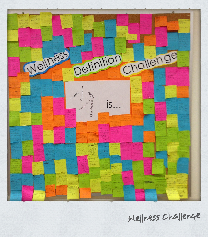 Bulletin board idea health and physical education