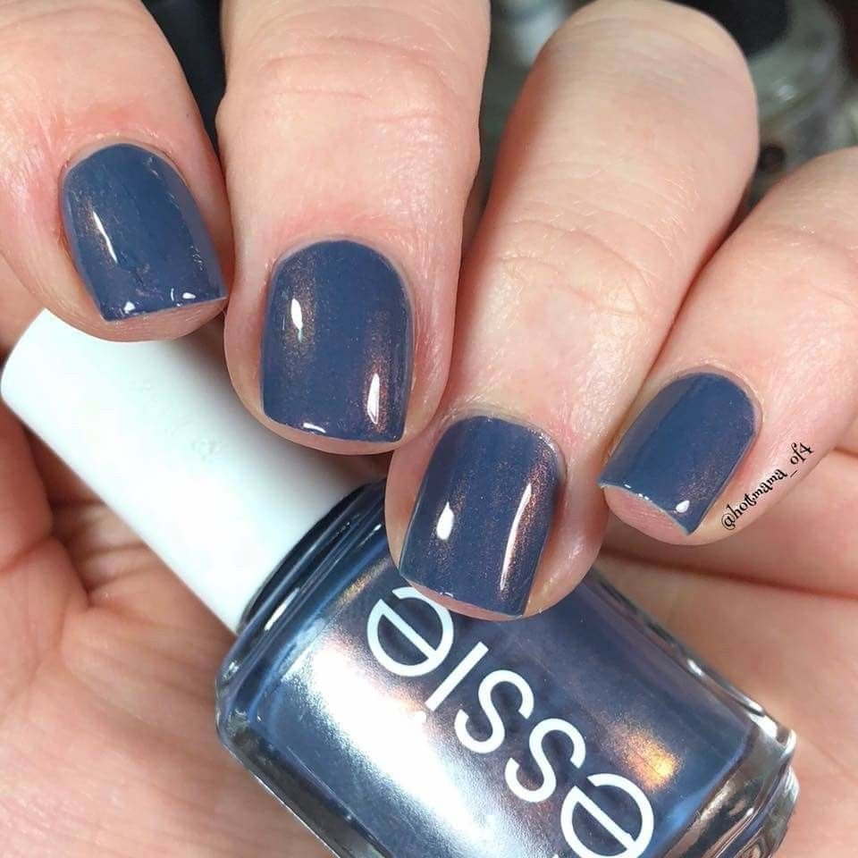 Essie Blue-tiful Horizon | Manicures Most Wanted | Pinterest | Nail ...