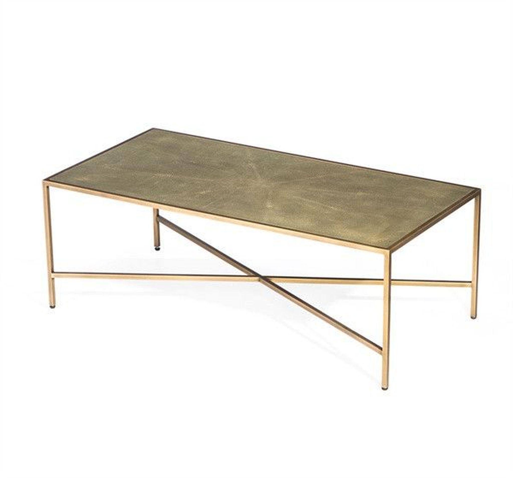 $1350 00 Dorian Shagreen Cocktail Table