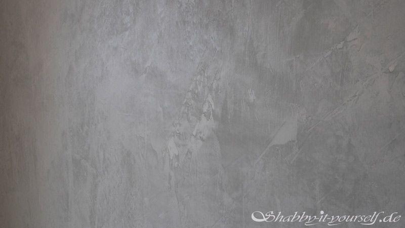Alpina Farbrezepte Beton Optik Streichen 9