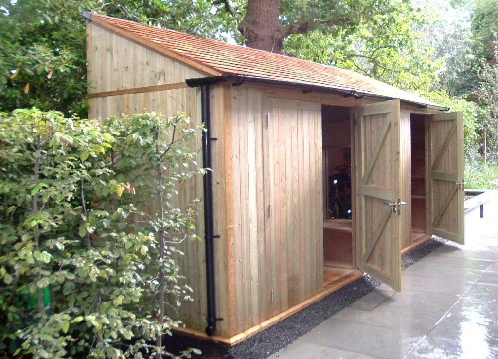 Customer39s Longhouse Shed gardensheds Shed Plans t