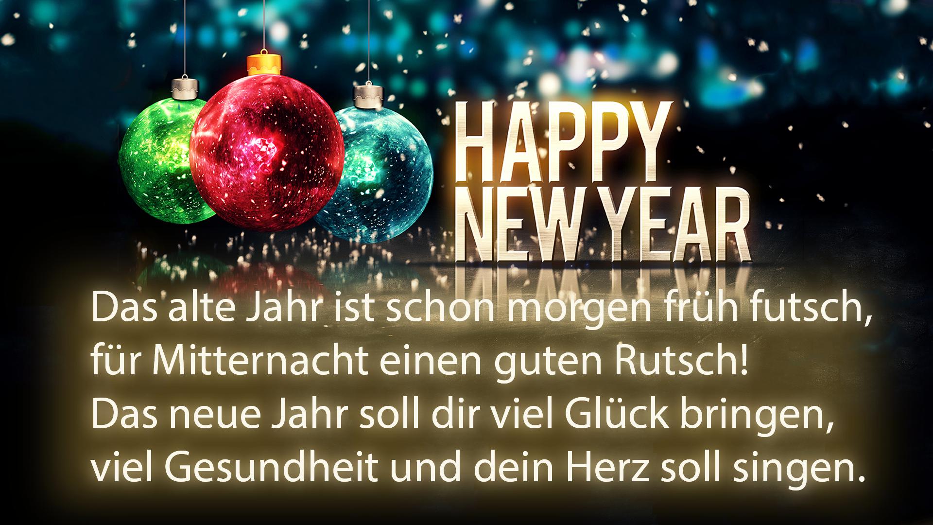 Unsere 30 lustig-schönsten Neujahrswünsche & Silvester-Sprüche 2017 ...