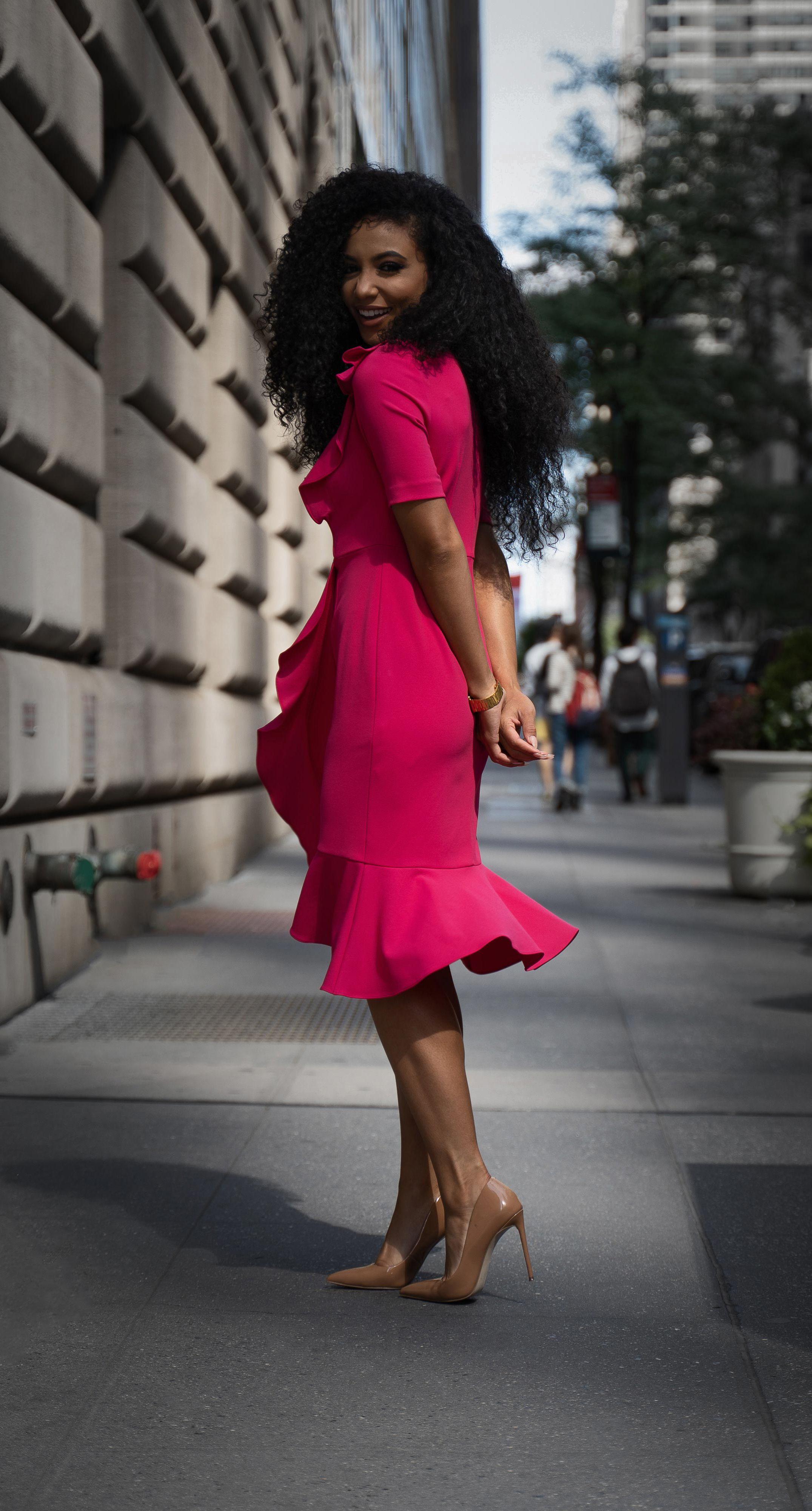 What I Wore Black Women Own The Conversation White Collar Glam Stylish Black Women Interview Dress Black Women Fashion [ 4000 x 2151 Pixel ]