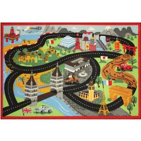 Disney Pixar S The World Of Cars Rug
