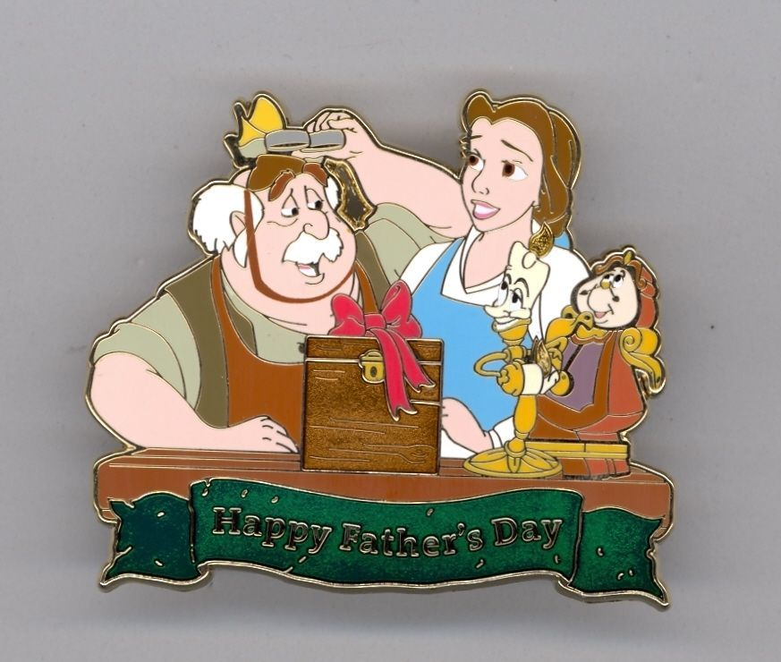 Wdi Disney Beauty The Beast Belle Maurice Lumiere Father S Day