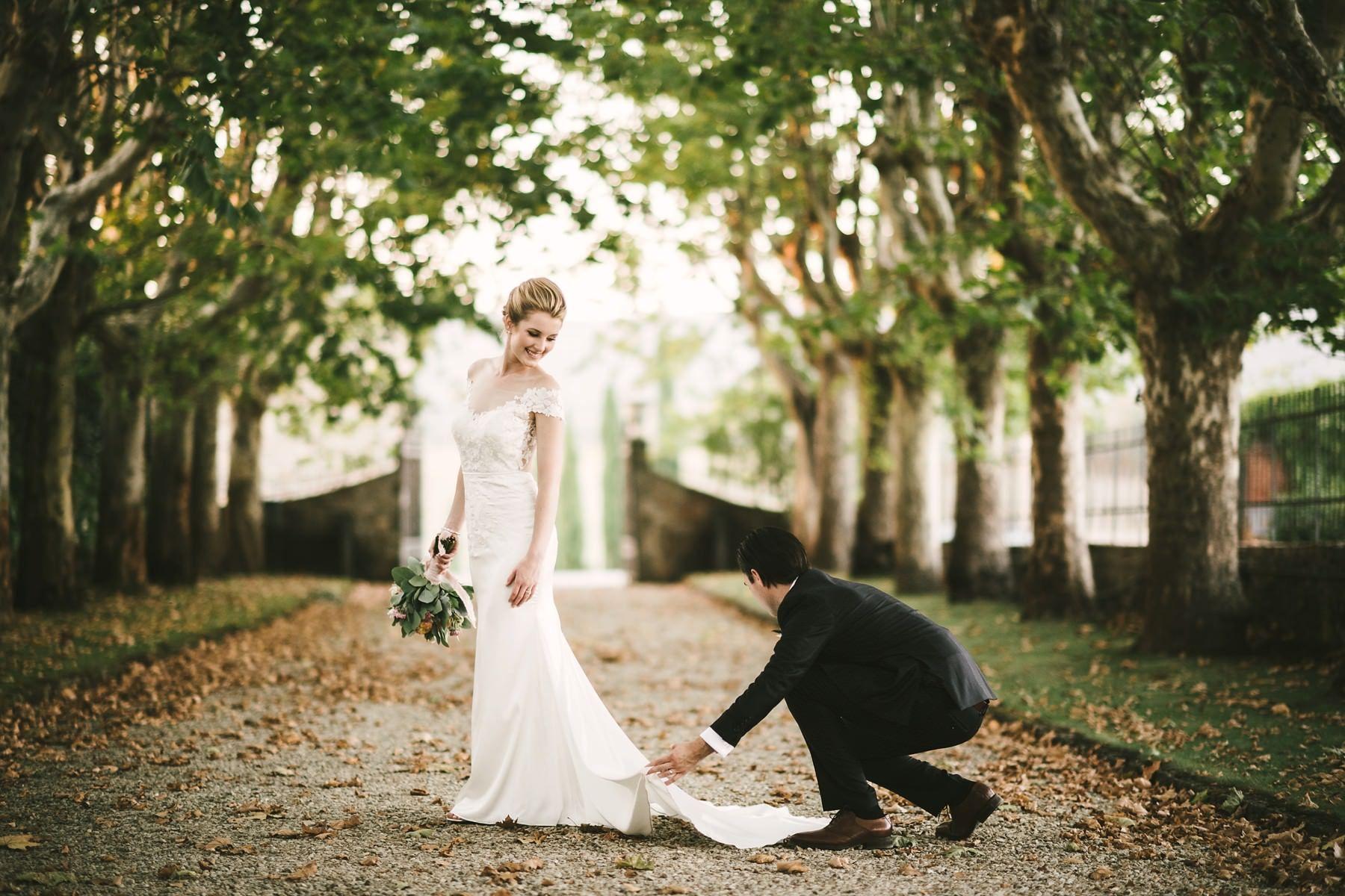 A Wonderful Elopement In Italy Wedding For Two At Villa La Selva Wine Resort Nel 2020
