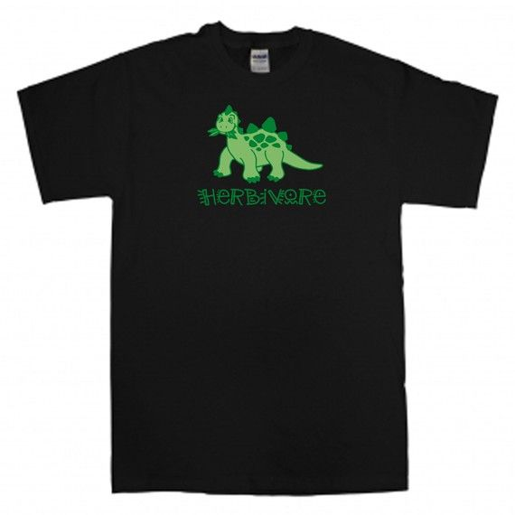 Dinosaur T Shirt  American Apparel  Green On by ScreamPrinting, $17.95