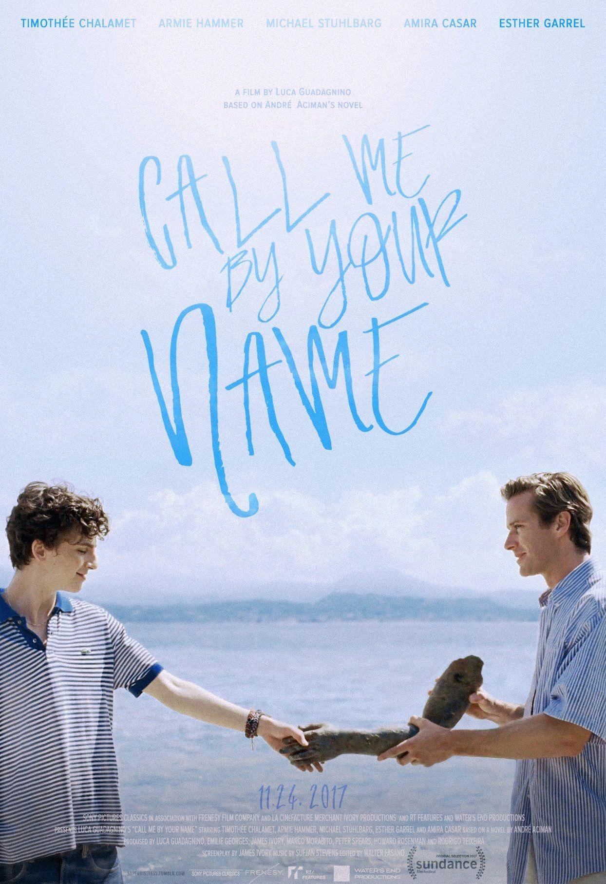 Call Me By Your Name (2017) | Pôsteres de filmes, Cartaz ...