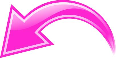 Arrow Curved Pink Left Curved Arrow Arrow Curve